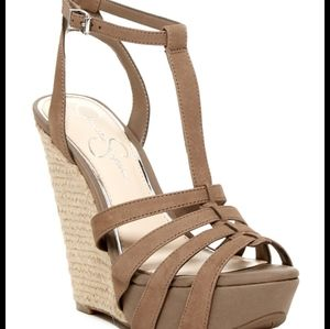 Jessica Simpson Bailor Wedge Platform Sandal NEW 9